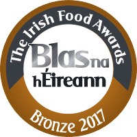 Blas na hEireann Irish Food Awards 2017 - Bronze
