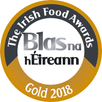 Blas na hEireann Irish Food Awards 2018 - Gold